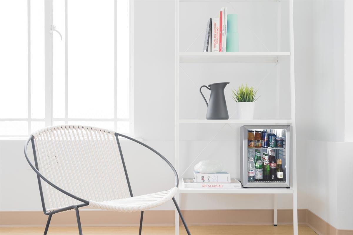 Hotel Mini bar compressor less minibar hotel Minibar hotel fridge glass minibar smart hotel minibar