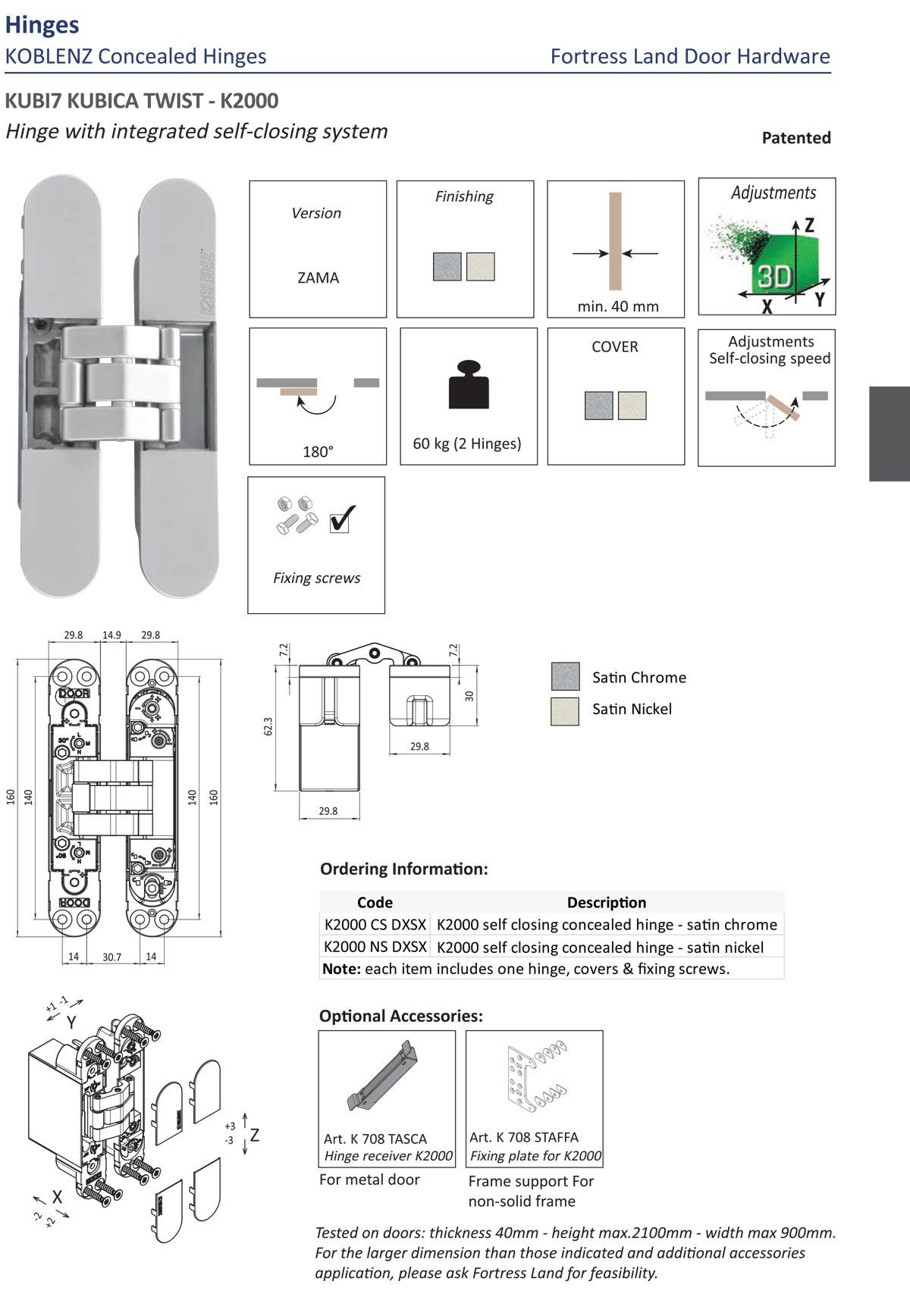 compact hinge, agb hinge, italian hinge, easy hinge, easy install hinge, easy adjustment door hinge, door hinge, steel hinge, indoor hinge, interior door hinge, Fortress land Security Company, Yangon, Myanmar