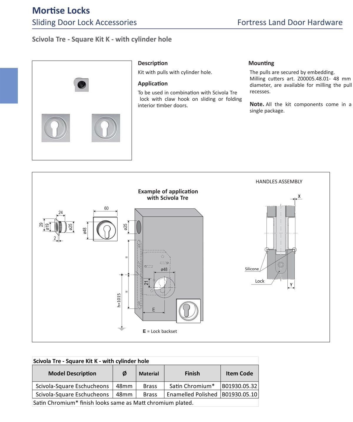 sliding door accessories, flush door handle, flush handle, flush slidng door handle, sliding door pull, sliding door finger pull, Fortress Land Security Company