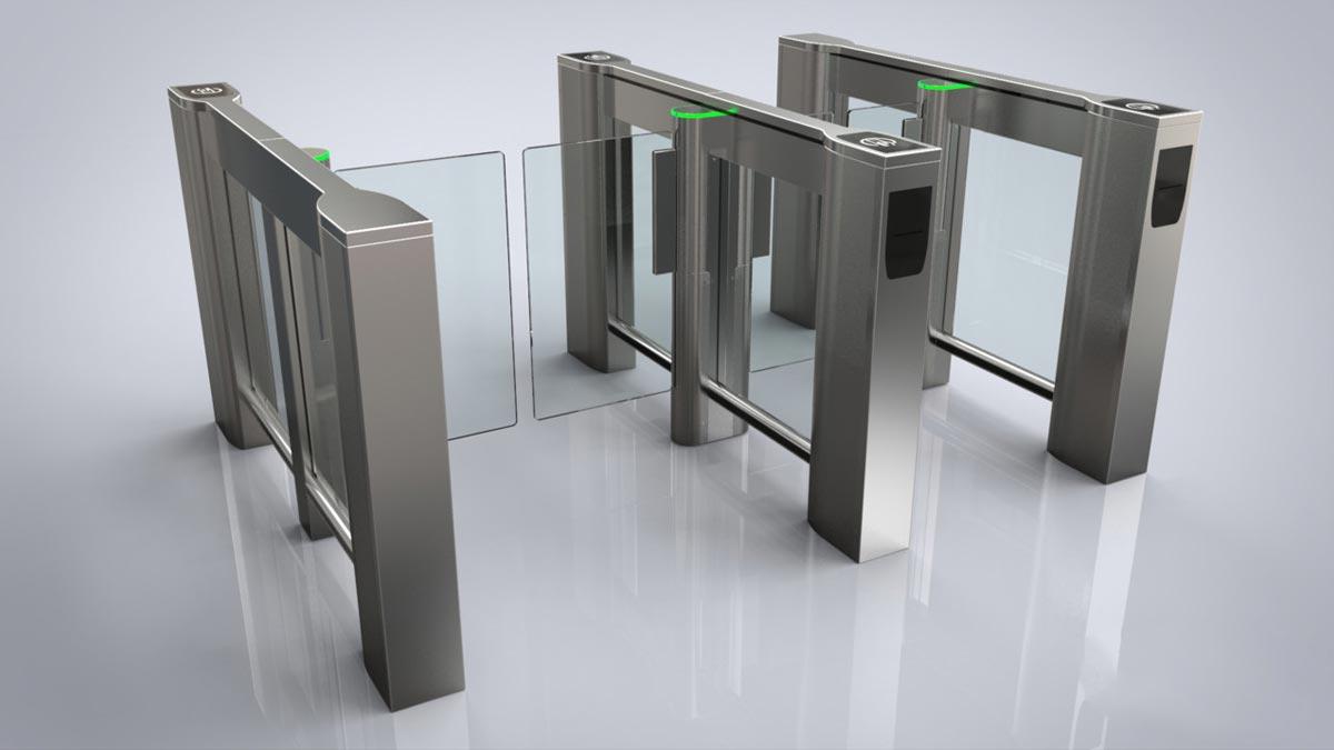 flap gate turnstile pedestrian access control gate swing gate tripod turnstile gate pedestrian slide gate