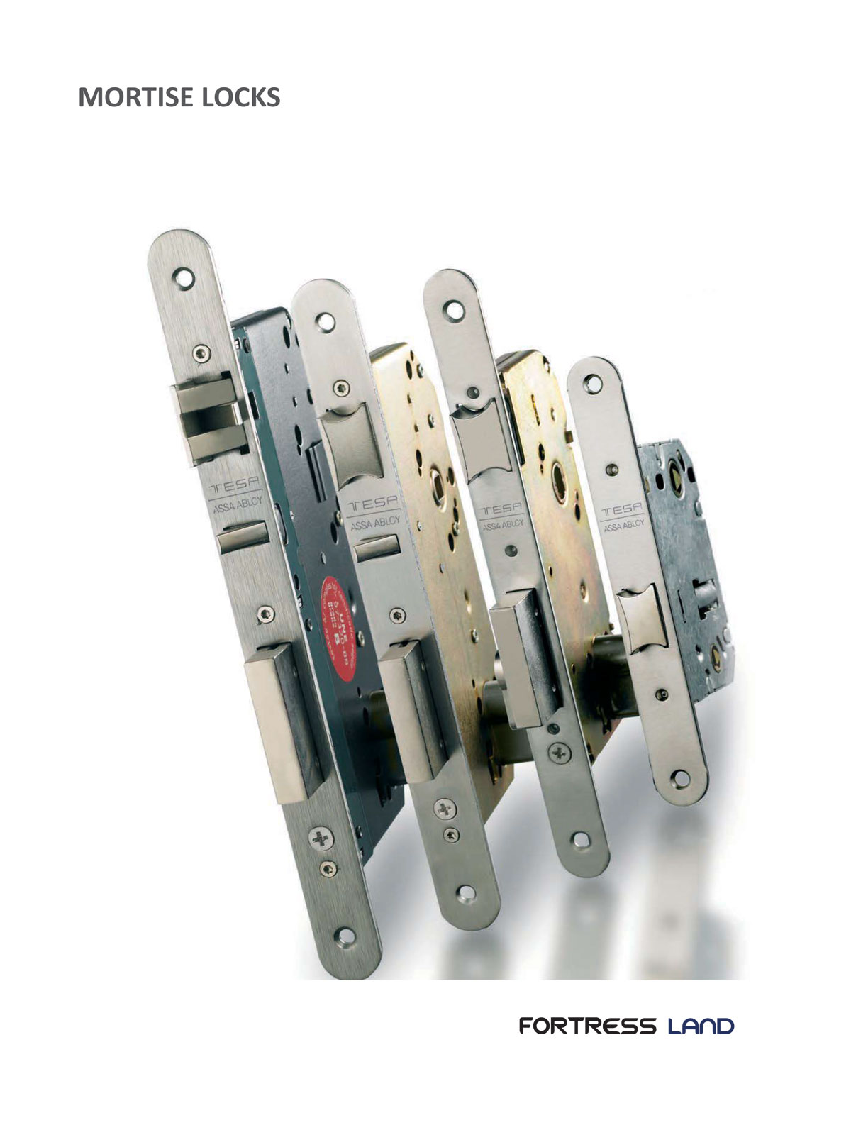 mortise lock, automatic deadlock, passage lock, deadbolt lock, latch lock, privacy lock, bath room lock, entrance lock, weather proof lock, Fortress Land Security Company