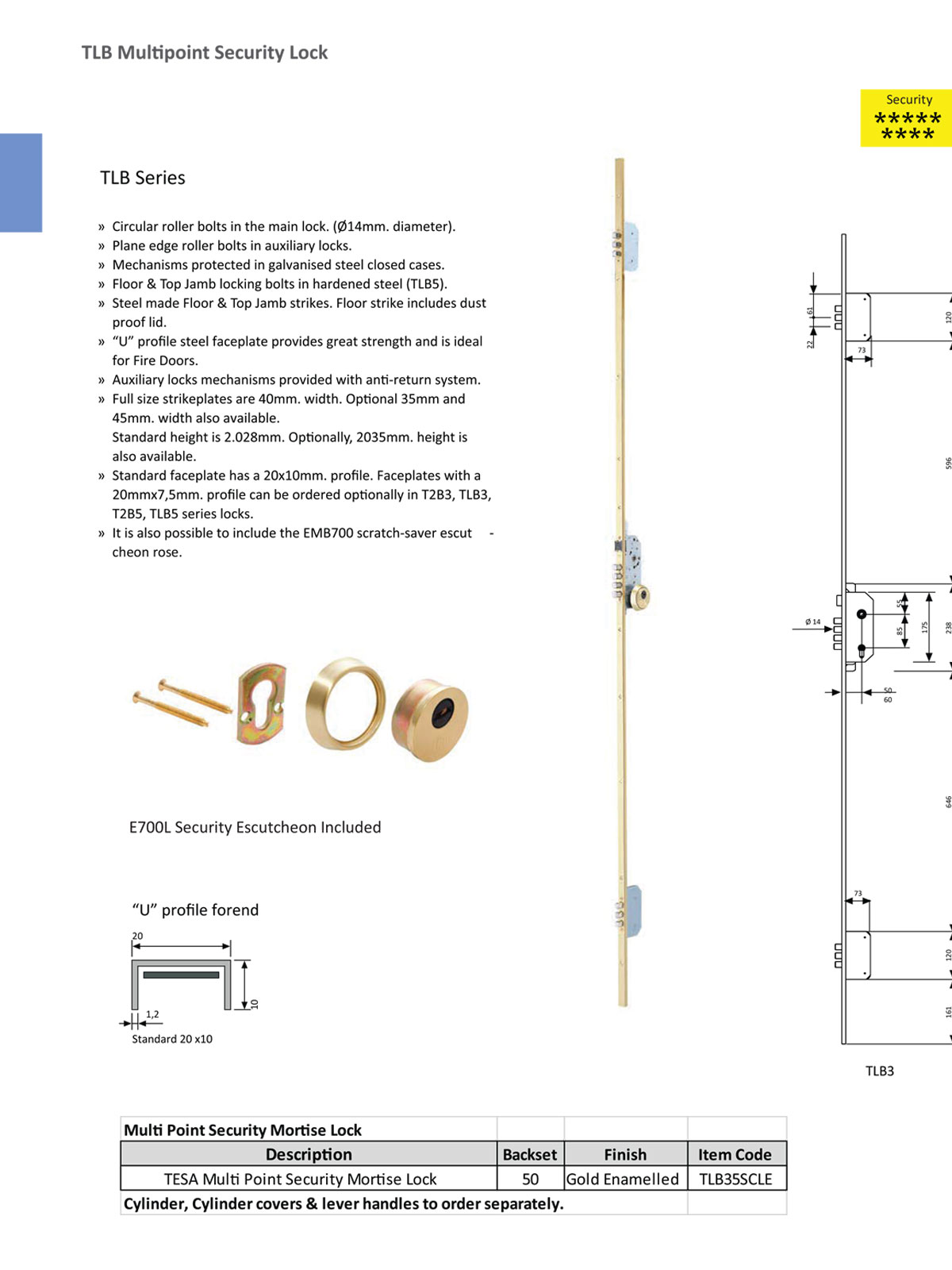 mortise lock, high security mortise lock, mortice lock, security mortise lock, multi point mortise lock, strong lock, motorized multipoint lock, electric controlled lock, deadbolt lock, security lock, Fortress Land Security Company